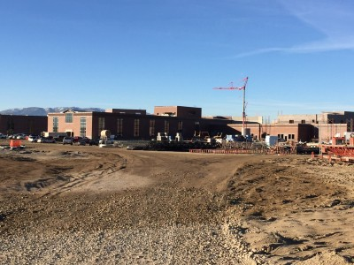 Skyridge High construction