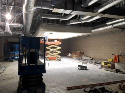 New Lehi Elemtary Media Center Construction