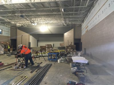 New Lehi Elemetary Cafeteria-Gym-Stage