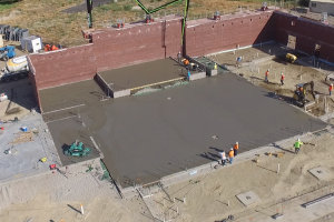 Concrete work for new Orem elementary