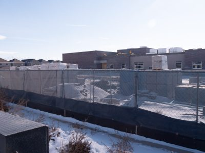 Construction of new elementary school in Lehi