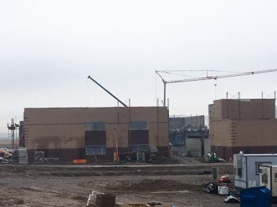 Contstruction at new Saratoga Spring Middle School